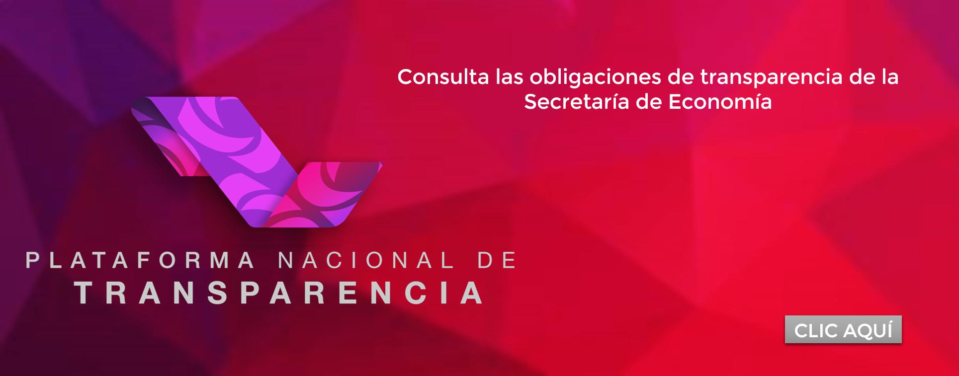Obligaciones de Transparencia de la Secretaría de Economía