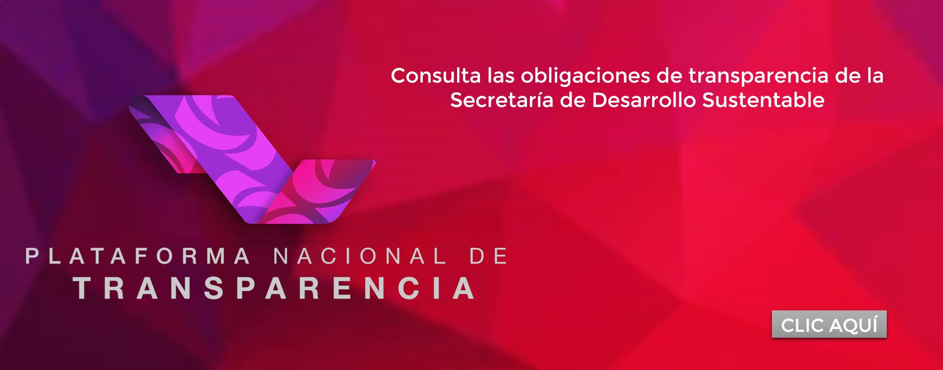 Obligaciones de transparencia de la Secretaría de Desarrollo Sustentable